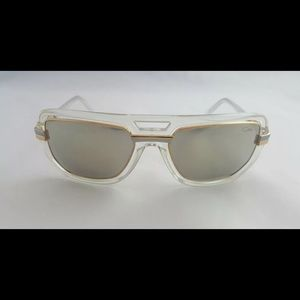 CAZAL GOLD SUNGLASS WITH GOLD MIRROR LENS